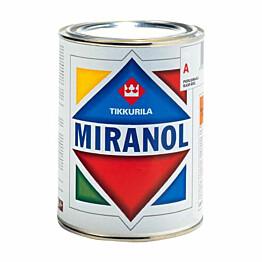 Alkydimaali Miranol 1 l 0202 Musta