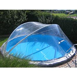 Allaskupu Summer Fun Cabrio Ø 450 cm pyöreälle altaalle