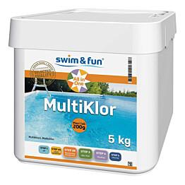 Allastabletti Swim & Fun MultiKlor Maxi tab, 2 x 5 kg