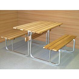 Pöytä/penkki yhdistelmärunko Kikka Alumiininen