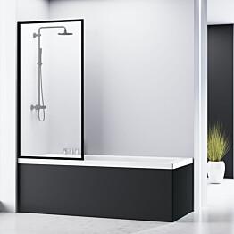 Ammeseinä Bathlife Profil 800 mm musta profiili