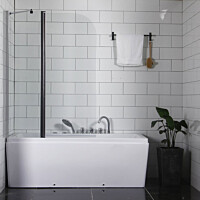 Ammeseinä Bathlife Skåda, 1400x1000mm