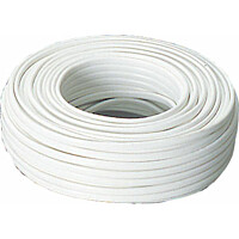 Asennuskaapeli Sunwind 2x2,5mm2 50 m valkoinen