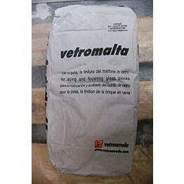 Asennuslaasti lasitiilille Vitrablok 5kg valkoinen