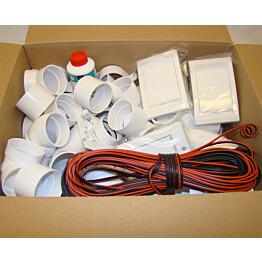 Asennussarja Electrolux 2 rasialle keskuspölynimurijärjestelmiin