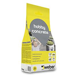 Askartelubetoni Weber Hobby Concrete 5 kg