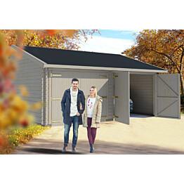 Autotalli Lillevilla Garage 24 Kiiminki 32,5m² kaksi autopaikkaa