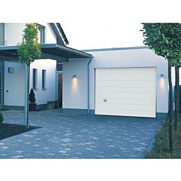 Autotallin nosto-ovi Turner 820, 3000x2125 mm, leveä vaakaura puunsyykuvio