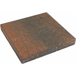 Betonilaatta 300x300x50 mm sileä punamusta