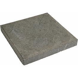 Betonilaatta 400x400x50 mm kuvioitu harmaa