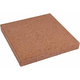 Betonilaatta 400x400x50 mm sileä punainen