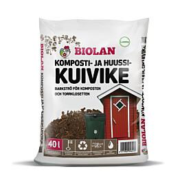 Biolan Komposti- ja Huussikuivike 40 l