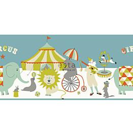 Boordi Circus 178704 5000x265 mm oranssi, minttu, oliivi