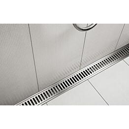 Ritilä Column 800 mm suihkutilassa ClassicLine Unidrain