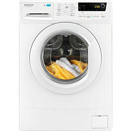 Edestä täytettävä pyykinpesukone Rosenlew RTF71203W, 7 kg, 1200 rpm, LCD-näyttö
