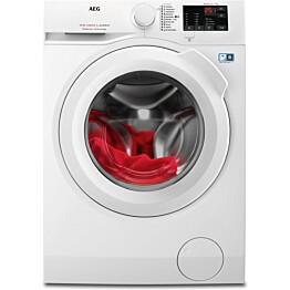 Edestä täytettävä pesukone AEG L6FBM842I 1400 rpm 8 kg