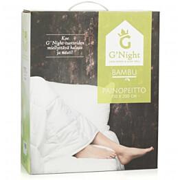 Painopeitto G'Night, 150x200cm, 9kg, bambu