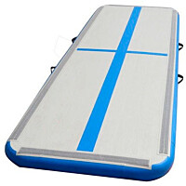 Ilmavolttipatja GymSport AirTrack Advance 500D, 3x1m, sininen