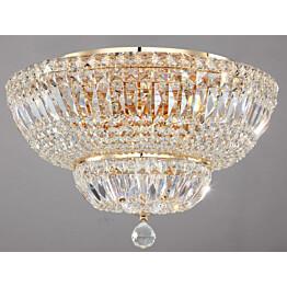 Kristallivalaisin Maytoni Diamant Crystal Basfor 12-G 460mm kulta