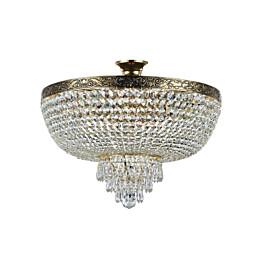 Kristallivalaisin Maytoni Diamant Crystal Palace 06-G 500 mm antiikkikulta