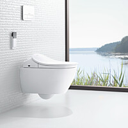 Elektroninen pesevä WC-istuin Villeroy&Boch ViClean-L, V02EL401, valkoinen