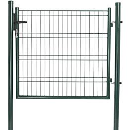 Elementtiaidan portti Hortus, 1030x1180mm, vihreä