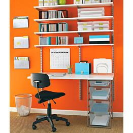 50x120 cm kokoinen, leveä melamiinihylly sopii kaikenlaisten tavaroiden säilyttämiseen ja työpöytätasoksi