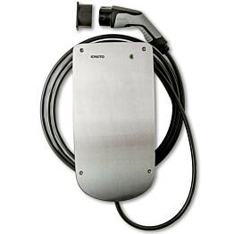 Sähköauton latauslaite Ensto Chago eFiller EVH020.02H 1x16A IP44 3.6kW T2-pistokkeella ja 4,5 metrin latauskaapelilla