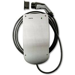 Sähköauton latauslaite Ensto Chago eFiller EVH050.02H 3x16A IP44 11kW T2-pistokkeella ja 4,5 metrin latauskaapelilla