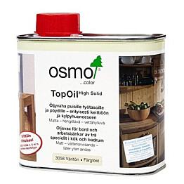 Erikoisöljyvaha OSMO COLOR TopOil 3058 500 ml työtasoille
