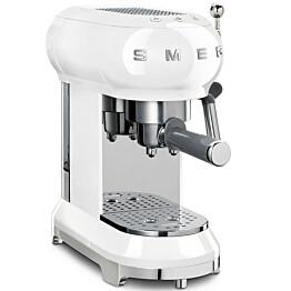 Espressokeitin Smeg ECF01, valkoinen
