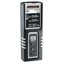 Etäisyysmittari Laserliner DistanceMaster Compact Pro Bluetooth-liitännällä ja kulmamittarilla