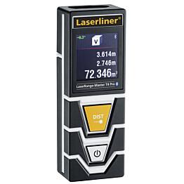 Etäisyysmttari Laserliner LaserRange-Master T4 Pro  Bluetooth-liitännällä ja kulmamittaustoiminnolla
