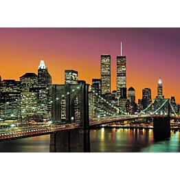 Valokuvatapetti 00139 New York City 8-osainen 366x254 cm