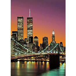 Valokuvatapetti 00389 New York City 4-osainen 183x254 cm