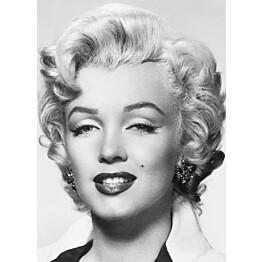 Valokuvatapetti 00412 Marilyn Monroe 4-osainen 183x254 cm
