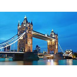 Valokuvatapetti 00959 Tower Bridge 8-osainen non-woven 366x254 cm