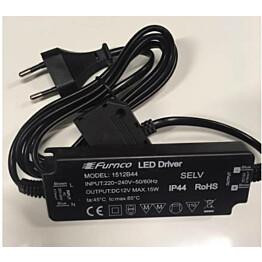 LED-muuntaja Hafa 15W IP44