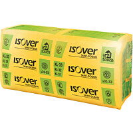 Mineraalivilla Isover KL 33 G3 touch 200 x 560 x 870 mm 1.95m2