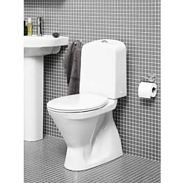 WC-istuin Gustavsberg Nordic³ 3500 piilo S-lukko kaksoishuuhtelu 3/6 l