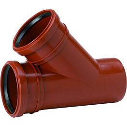 Haarayhde PVC 250/160x45°