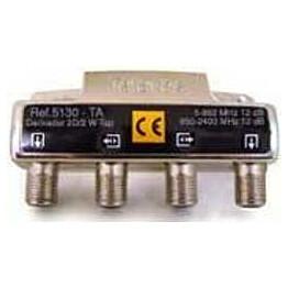 Haaroitin kahteen 12 dB 5-2400 T5130