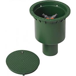 Haaroituskaivo Meltex 200 mm vihreä