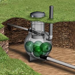 Harmaavesipuhdistamo BioRami 300