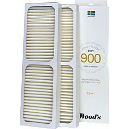 HEPA-suodatin Woods 3-Pack Gran 900 ja Elfi 900