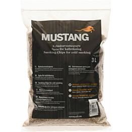 Hienojakoinen Savustuspuru Mustang 3l mesquite