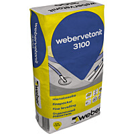 Hienotasoite 3100 Webervetonit 20 kg