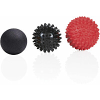 Hierontapallo Gymstick Massage Ball Set 3 kpl