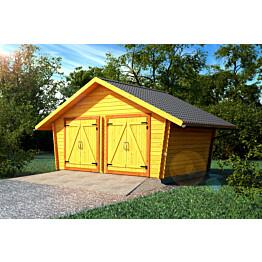 Hirsilato LP Garden R16 rakomalli 16 m²