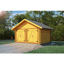 Hirsilato LP Garden S16 umpiseinä 16 m²